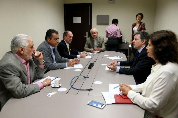 Reunião Câmara Comércio França