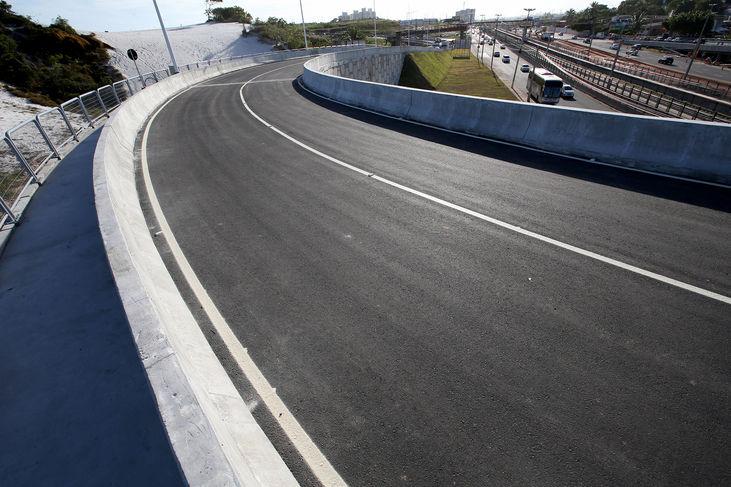 Inaugurado último viaduto complementar das obras do metrô