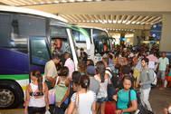 60 mil eleitores baianos devem passar pela rodovi�ria de Salvador