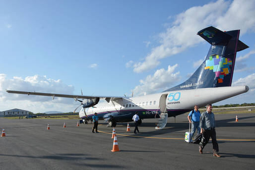Avia��o comercial em Feira de Santana completa um ano