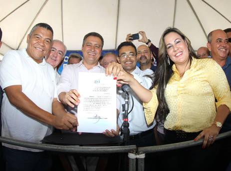 Em visita ao município, na manhã desta sexta (7), Rui Costa também autorizou a SDR a celebrar um convênio no âmbito do programa Bahia Produtiva
