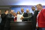 Governador Rui Costa se reúne com prefeitos de cidades do interio...