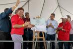 Governador Rui Costa inaugura a cobertura de quadra poliesportiva...