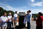 Inauguração da restauração da BA-172 em Jaborandi
