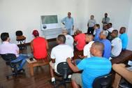 Reunião apresenta plano de execução de obras no Terminal Marítimo de Vera Cruz