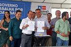 Governador Rui Costa inaugura a recuperação da BA 026, Sistema Si...