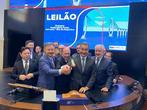 Governador Rui Costa acompanha leilão da ponte Salvador-Itaparica...