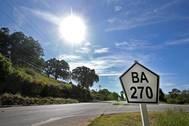 Pavimentação da BA-270 é entregue entre Pau Brasil e Camacã
