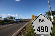 Governador Rui Costa entrega a restauração e pavimentação da BA-490, no município de Rafael Jambeiro